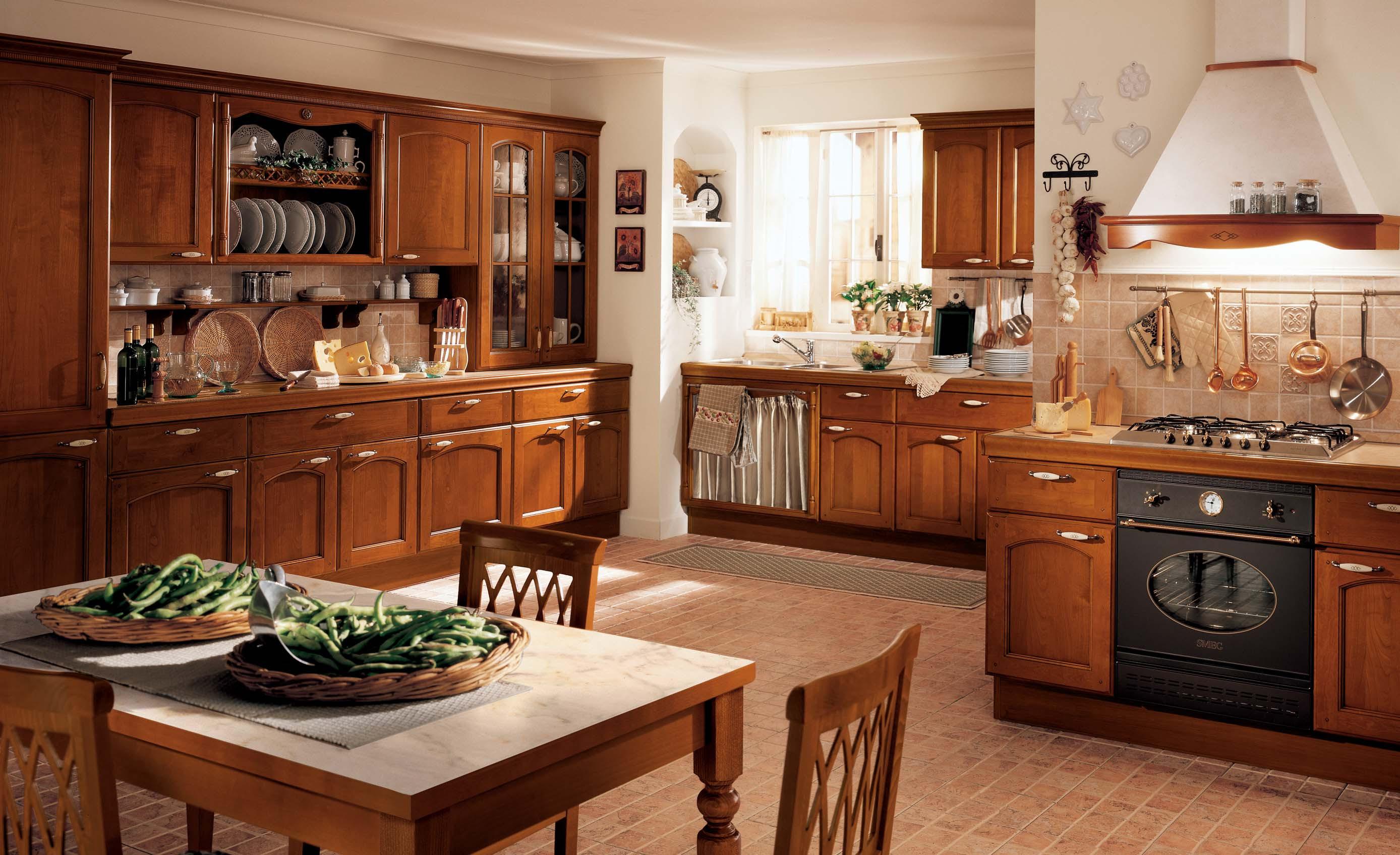 Home Architec Ideas Modern Wood Classic Kitchen Design