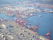 Seattle es un de los puertos principales de los EE.UU.