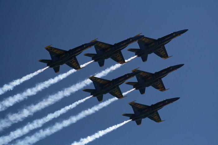 Fleet Week Air Show Blue Angels