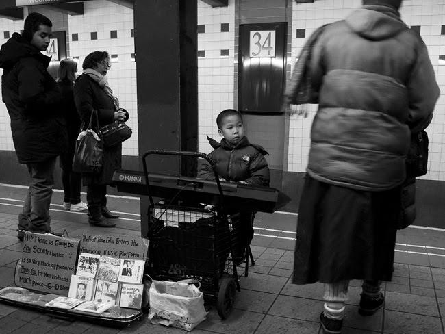 On the Platform, NYC