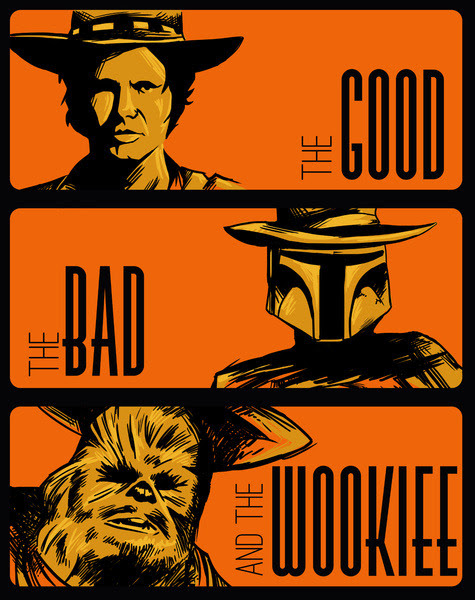 The Good, The Bad, And the Wookie by Adam Rufino
