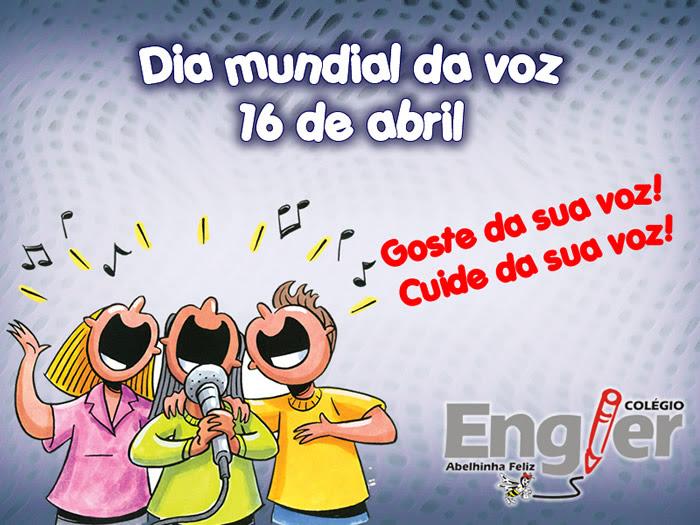 Dia Mundial da Voz Imagem 1