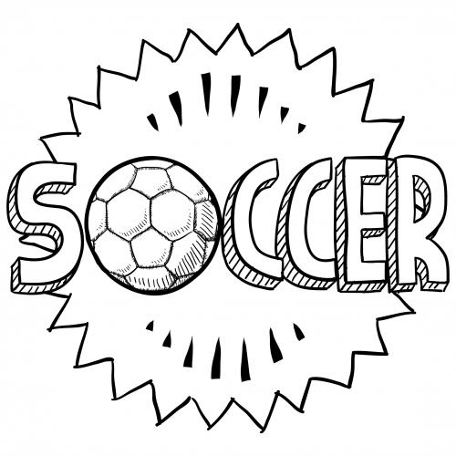 Soccer Sports Coloring  KidsPressMagazine.com