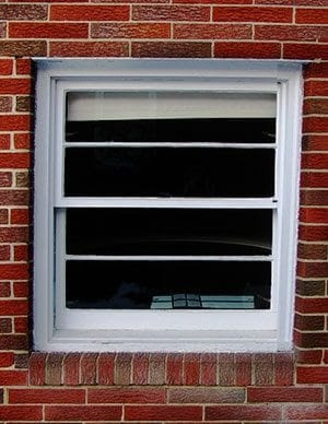 ranch house window