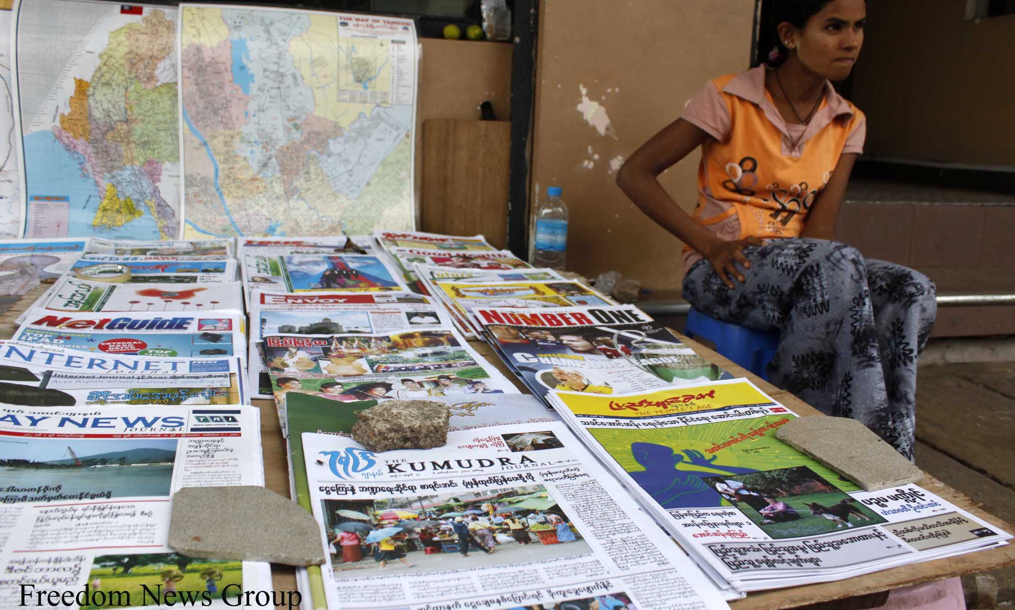 Myanmar censorship chief call for press freedom