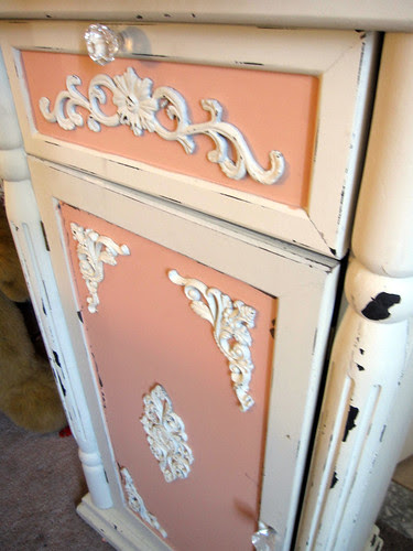 Up-Cycled Frou Frou Cabinet! 4
