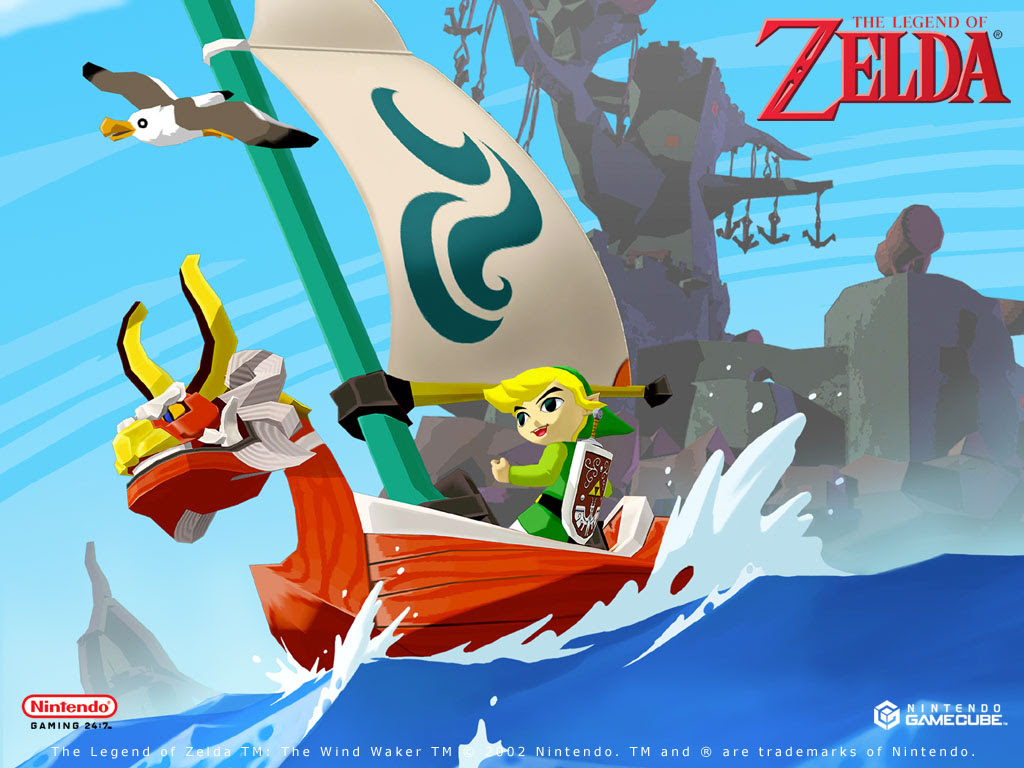 The Wind Waker The Legend Of Zelda Wallpaper 39032489 Fanpop