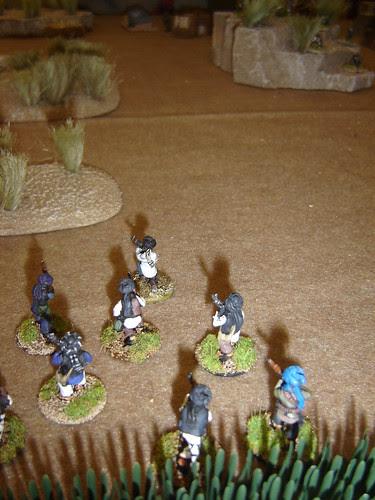 Frontal long-range assault doesn't go well