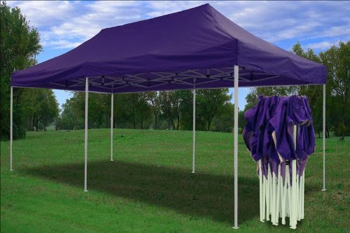 Ez Up Canopy 10x20 >> Best 10x20 Pop Up 6 Walls Canopy Party Tent Gazebo Ez Purple Price