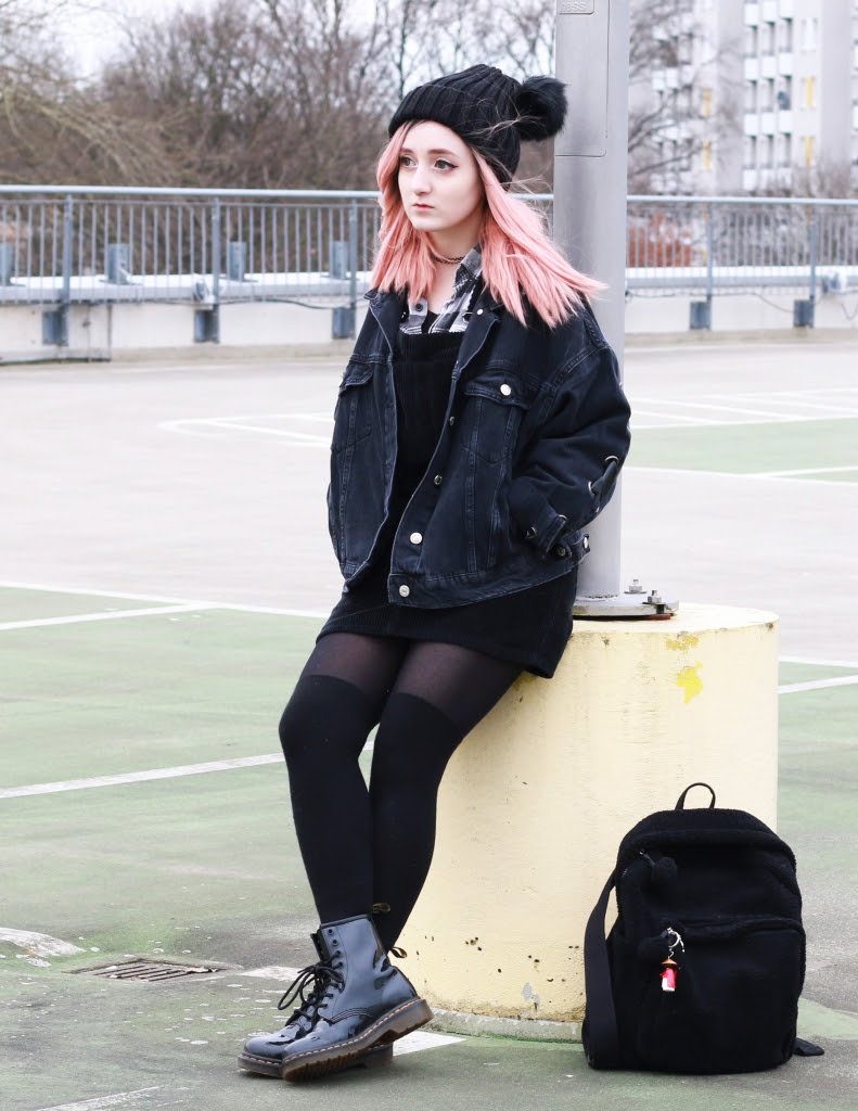 outer space style  kawaii grunge winter outfit