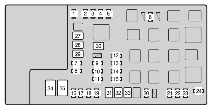 Diagram  Toyota Ta Fuse Box Diagram 2015 Full Version Hd