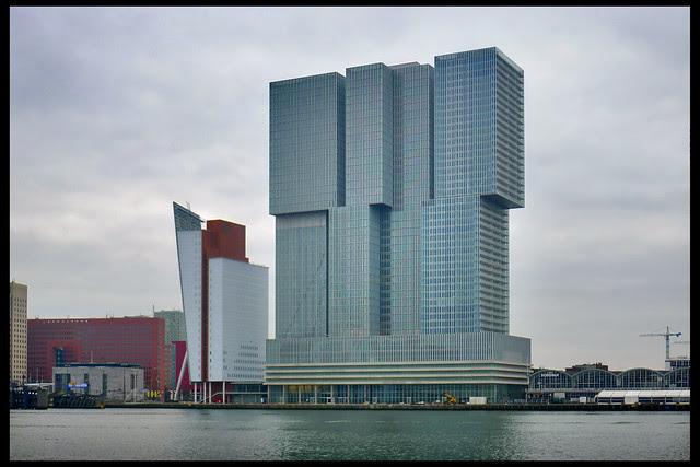 rotterdam multifunctioneel gebouw de rotterdam 01 2013 oma (wilhelminakde)