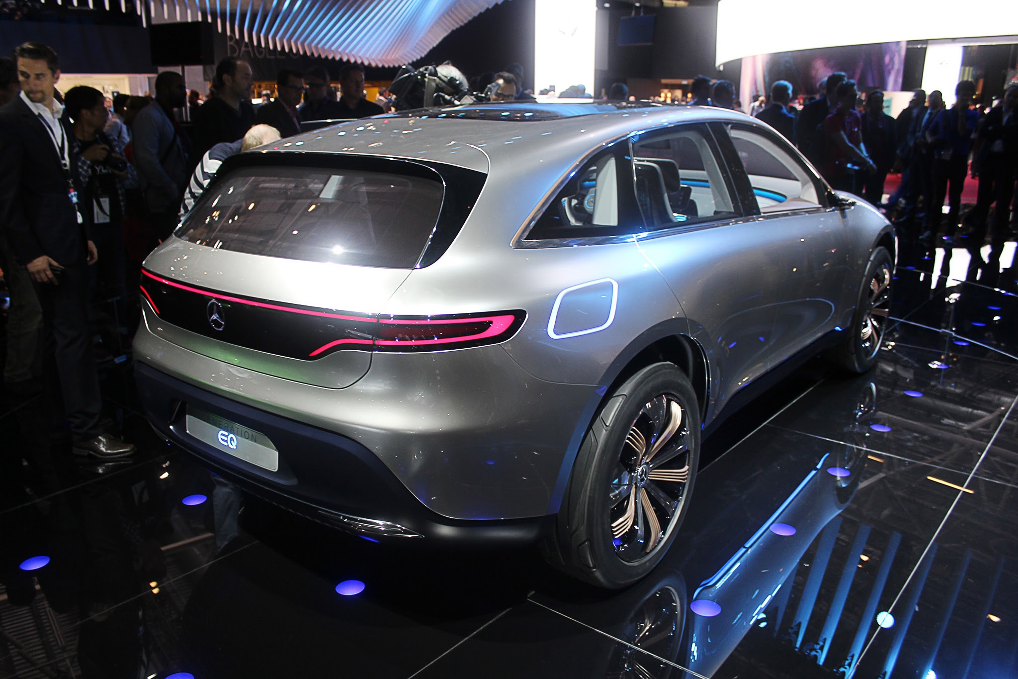 Mercedes-Benz Reveals Electric Generation EQ Concept SUV ...