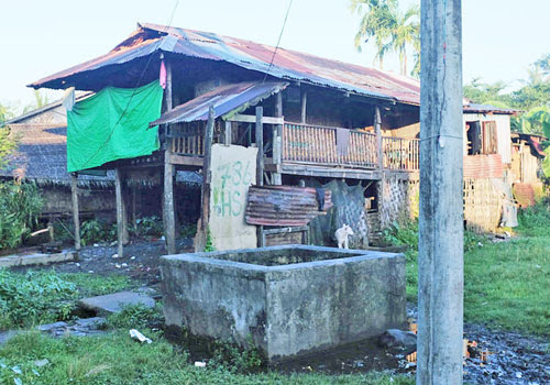 Sittwe's Aung Mingalar has been described by some rights groups as a ghetto. (Kayleigh Long/The Myanmar Times)
