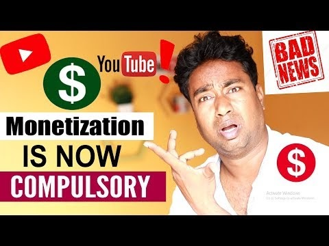 YouTube New Update : Not Monetize Channel may be Deleted ! बहुत हीं बुरी खबर Youtubers के लिये !