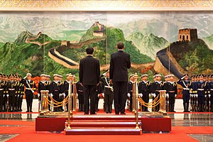 President Barack Obama and Chinese President H...