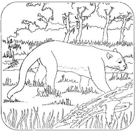 coloriage colorier coloriage panthere colorier