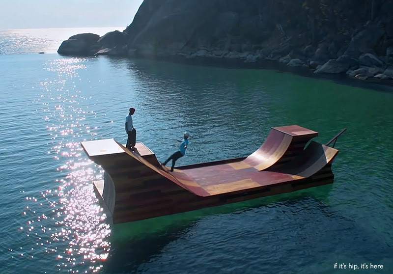 floating skate ramp 5 IIHIH