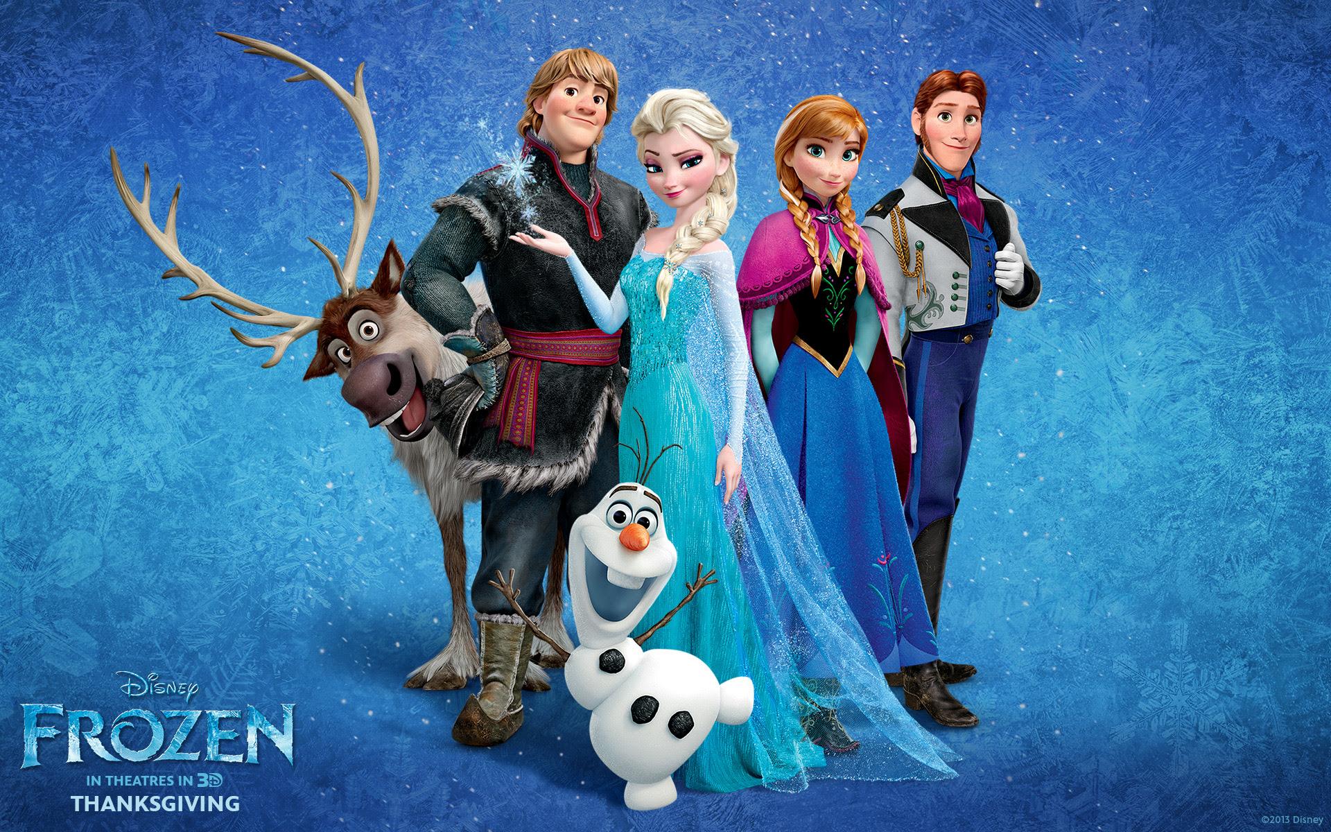 O Filme da Semana - Frozen.