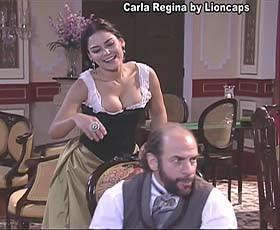 Carla Regina sensual nas novelas Essas Mulheres e Bela a Feia