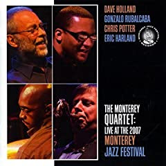 The Monterey Quartet: Live At The 2007 Monterey Jazz Festival cover