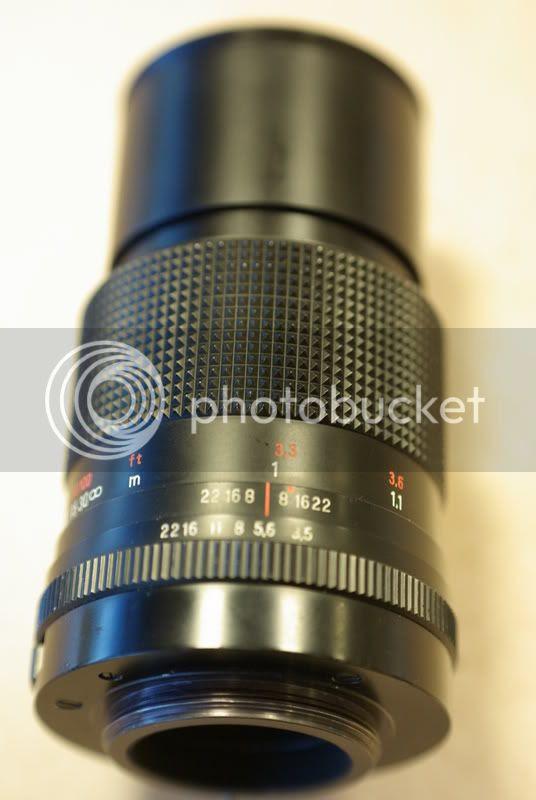 Carl Zeiss Jena Sonnar 135mm f/3.5 (M42)