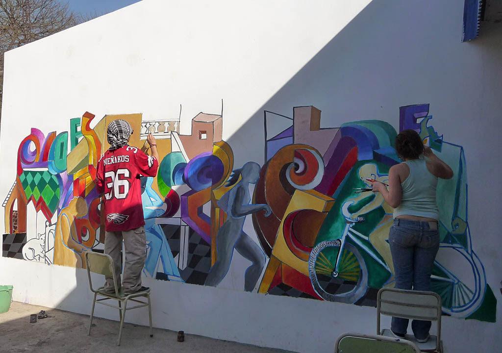 Colegio Sullivan Murales Solidarios