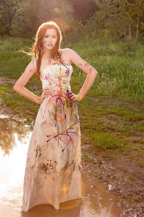 Trash the dress Paint  Katarina C.S. photography   i do