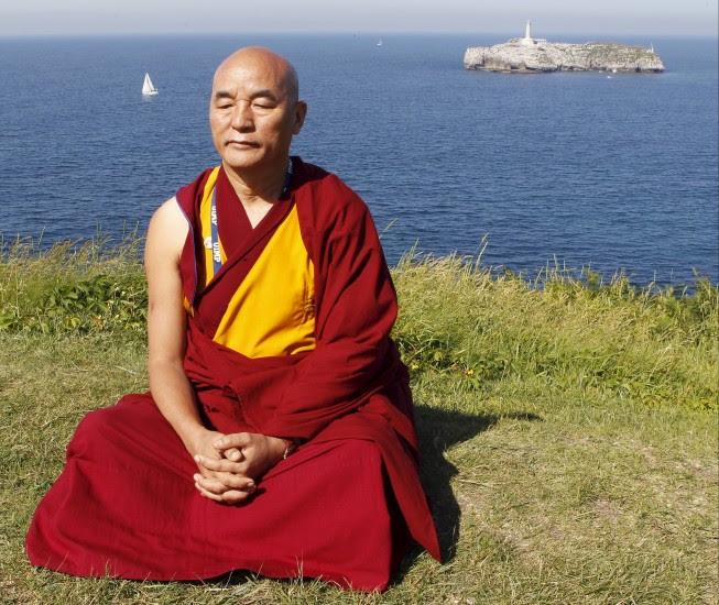 Un discípulo del Dalai Lama, en Santander