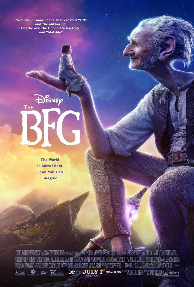 película, Mi amigo el Gigante, The BFG, cine, cartelera, NosVamosAlCine, Steven Spielberg, fantástico, monstruos, infancia, cuentos, Roald Dahl, blog de cine, solo yo, blog solo yo, blogger alicante,