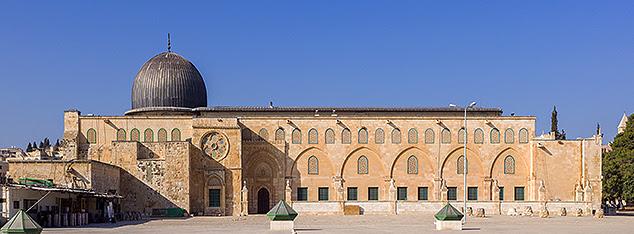The first  kibla of Muslims Al  Aqsa  Mosque  Nebi Bozkurt