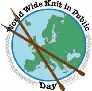Всемирный день вязания на публике - 10 июня 2012 г. Красноярск