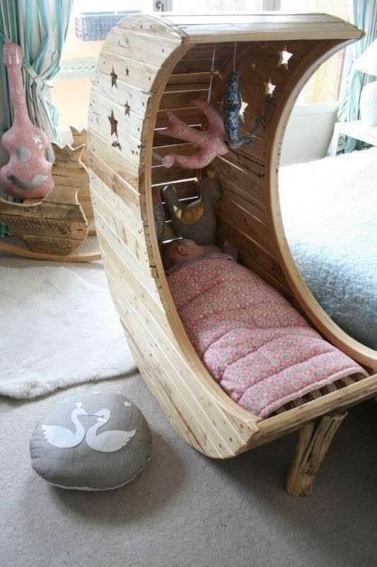 Baby Cradle From pallet