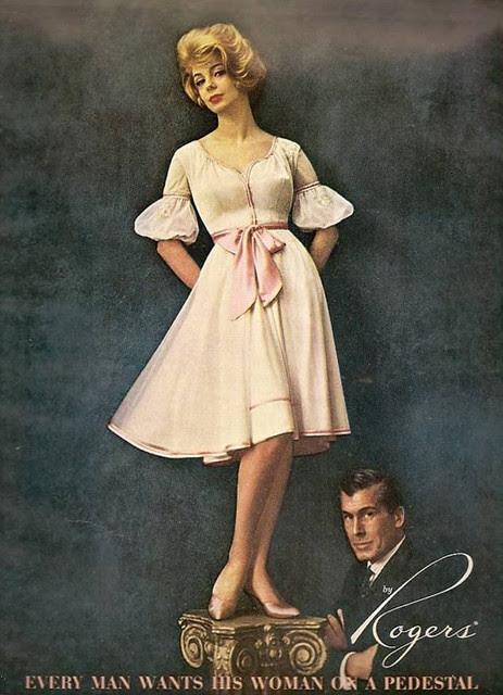 Vintage Lingerie Ad - 1963 - Rogers