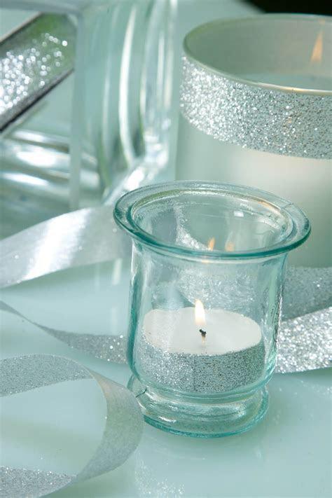 Glitter Ribbon Silver 7/8in x 25yds