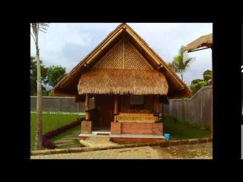 rumah bambu unik terupdate saat ini