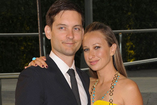 Tobey Maguire e Jennifer Meyer