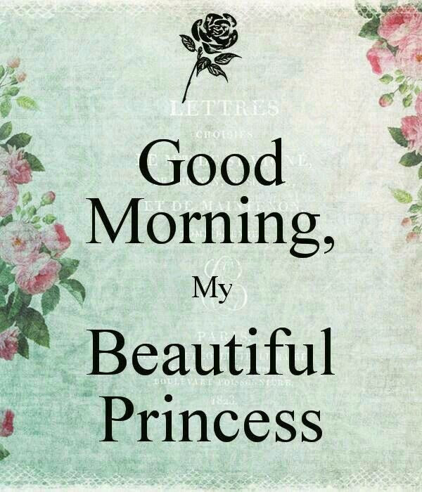20 Good Morning Princess Pictures