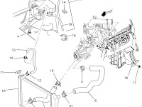 1994 Chevy Cavalier Cooling Diagram