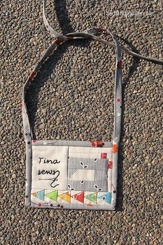 Minneapolis Modern Quilt Guild nametag swap
