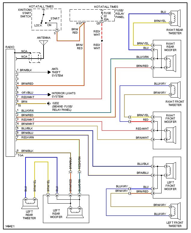 2006 vw jetta radio wiring harness wiring diagram fascinating