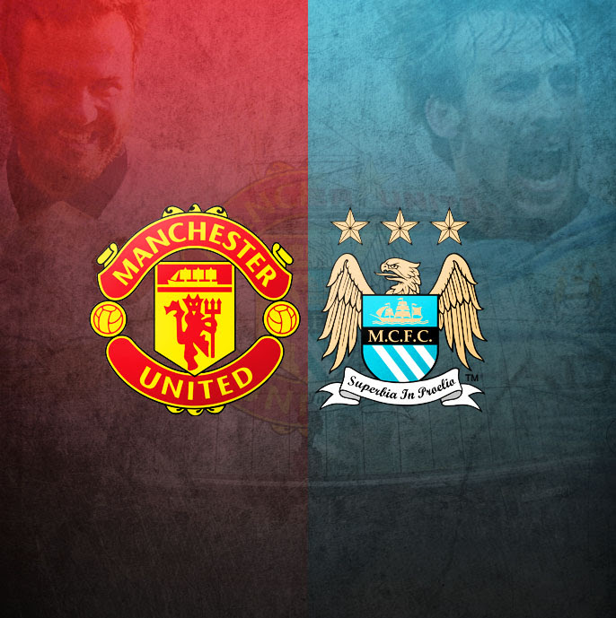 The Manchester derby: United vs City