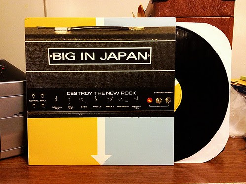Big In Japan - Destroy The New Rock LP by Tim PopKid
