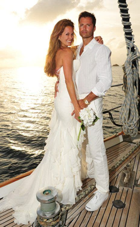 Brooke Burke & David Charvet from Celebrity Weddings in