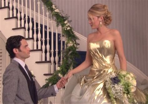 Serena van der Woodsen   Wedding Dress & Hair   Gossip