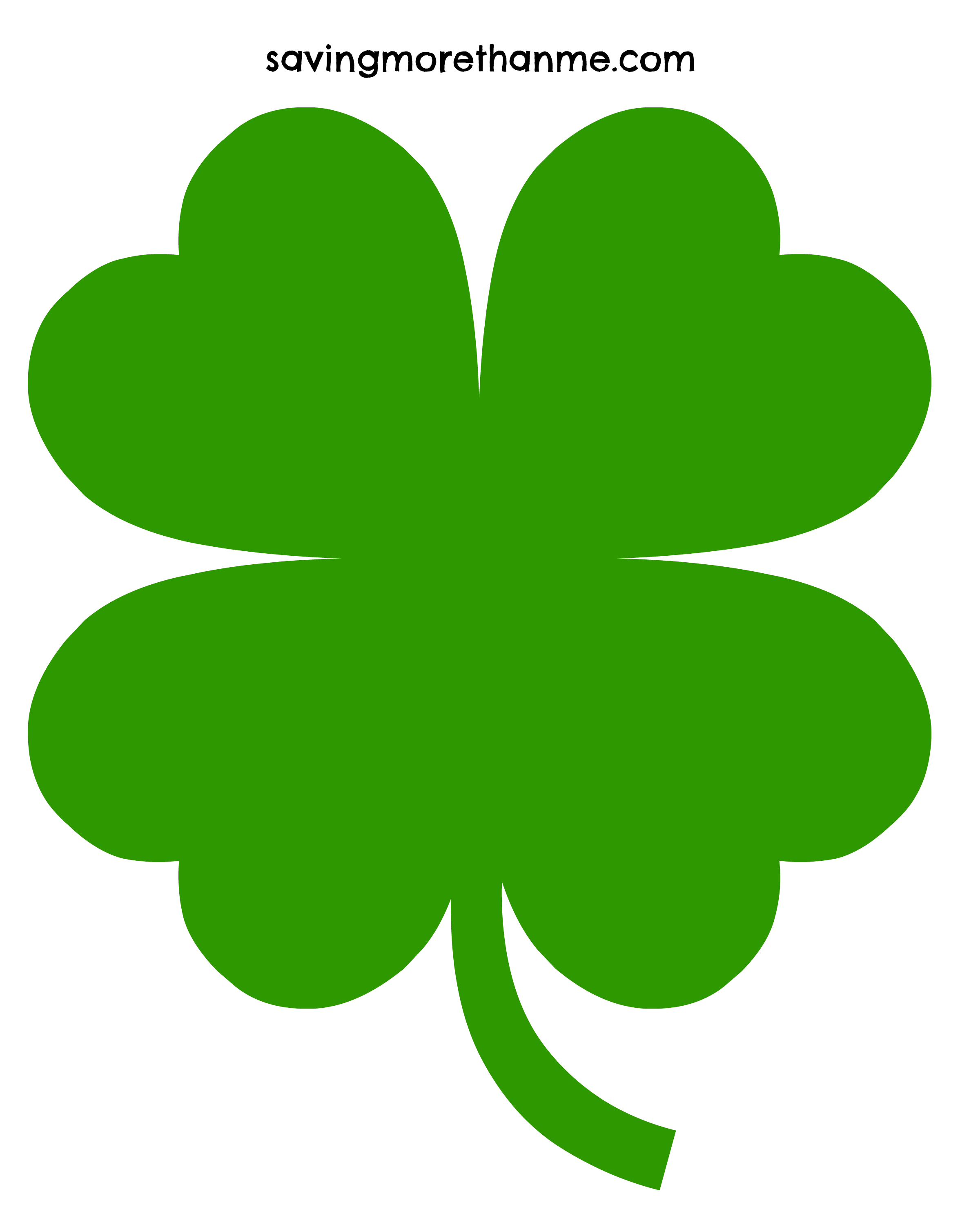 3 Leaf Clover Vector At Getdrawingscom Free For Personal Use 3