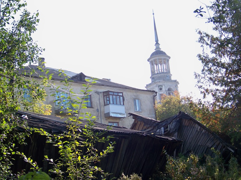 Надвратная церковь-колокольня Города России, Тверская область, красивые места, пейзажи, путешествия, россия, торжок
