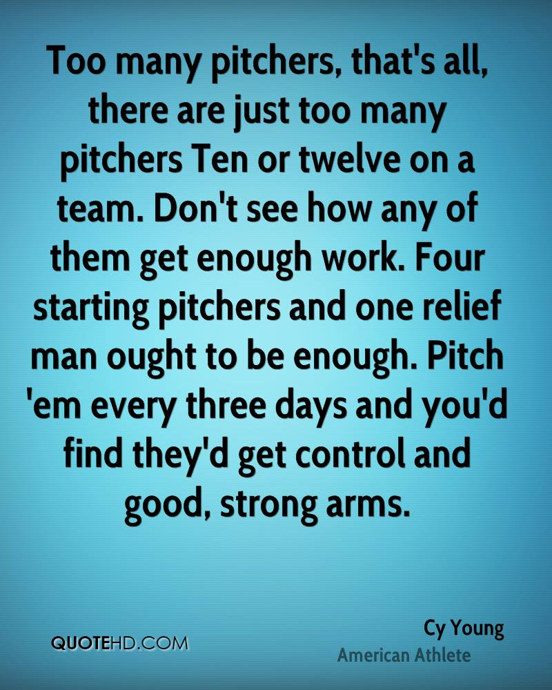 Cy Young Quotes Quotehd