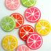 Molly's Sketchbook: Citrus Coasters