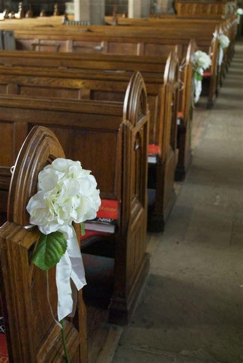 silk flower arrangements for wedding church pews   Arley